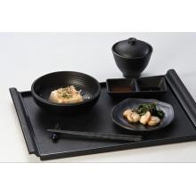 100% Melamine Dinnerware-Wooden Surface Tray (QQBK19001)