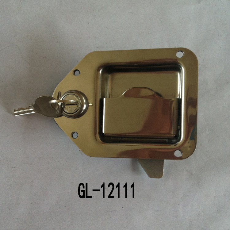 Key-Locking Recessed Handle Lock