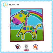 DIY Sand art/sand sticker as educational toy for children