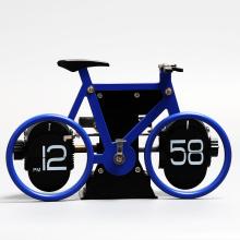 Велосипед флип часы для украшения стола