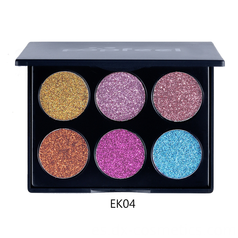 6 Colors beauty Gligger Eye Shadow 13