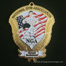 Benutzerdefinierte große Medaille für American Gym Association Member′s Souvenir
