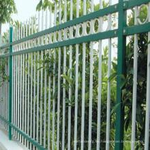 horizontaler Aluminiumzaun im Freien spielen Zaun