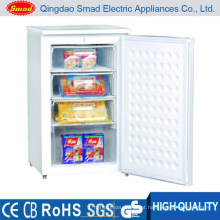 home stainless steel ice cream upright deep freezer 110L