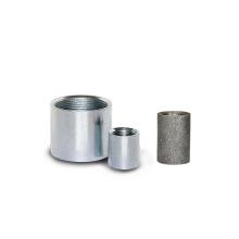 Nipple court / long en acier au carbone avec galvanisation électrique