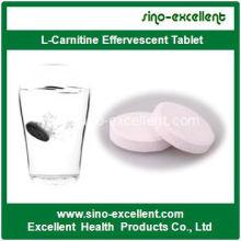 Gesundheit Produkt Gewichtsverlust L-Carnitin Brausetablette