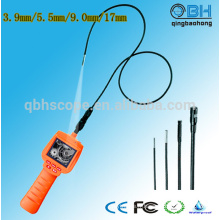 Caméra portative d'inclinaison / inclinaison d'inspection d'égout de 2,4 pouces TFT LCD