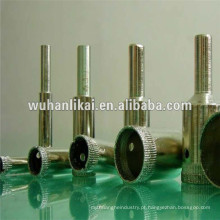 broca de núcleo de vidro galvanizado de diamante de alta qualidade