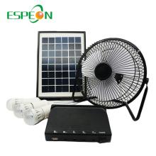 Espeon Low Price 12V Portable Lead-Acid Battery Mini Solar Panel System