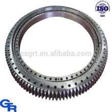 singel row roller slewing bearing, rotary table bearing