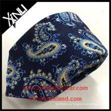 Kundenspezifische Art- und Weise100% silk gesponnene klassische Paisley-Mann-Krawatte, die neue 2017 ist