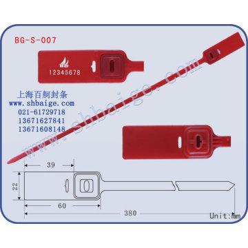Plastiktüte Gütesiegel BG-S-007
