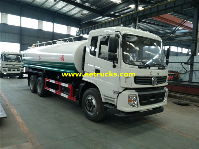 12 Wheeler 15 CBM Water Carrier Trucks