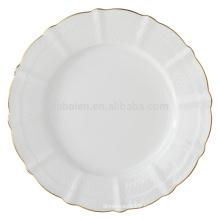 8.5 inch ceramic bone china dessert plates