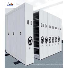 Mobiler Aktenschrank des beweglichen Archivs des Stahlgroßarchives beweglicher Metallcompactor