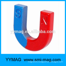 Alnico horseshoe shaped teaching magnet
