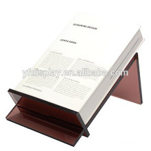 High quality tinted color file T-stand document holder clear acrylic file holder