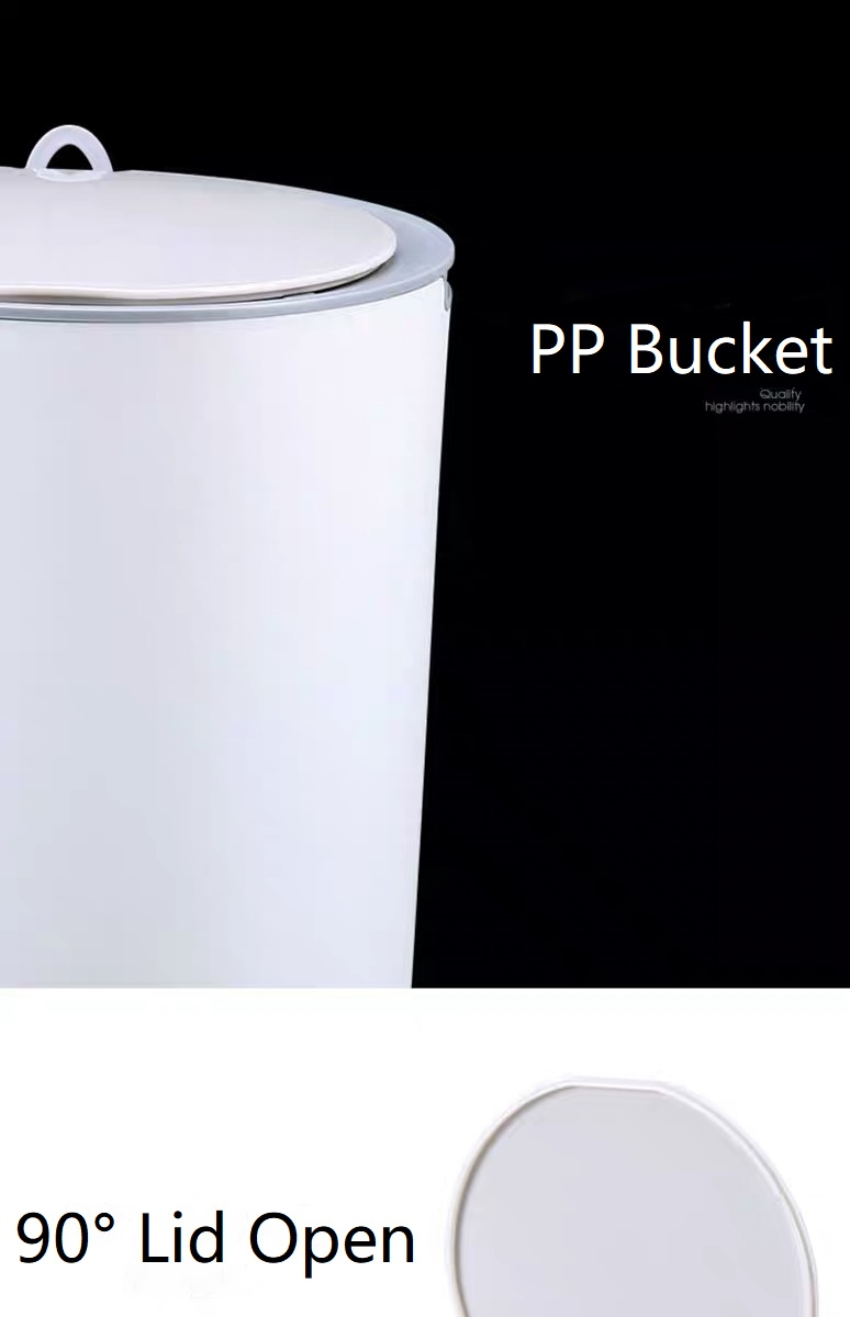 PP Waterproof Sensor Litter Can