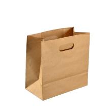 BEST PRICE KRAFT PAPER LOGO CUSTOM BAGS FOR SHOPPING WITH LOGO