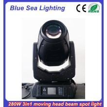 2015 New 10R 280w 3in1 moving head and price