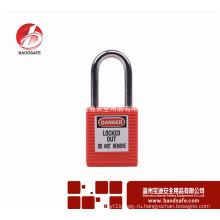 Wenzhou BAODSAFE Steel Xenoy Safety Padlock Lock BDS-S8601B красный