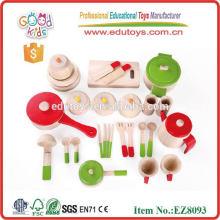 Children Pretend Play Toys Wooden kitchen Sets Toy
