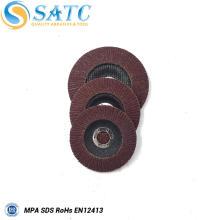 Diferentes modelos de suporte de plástico mini flap disc com Desconto A