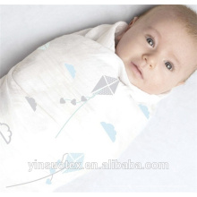 Cobertor de bambu musselina bebê swaddle