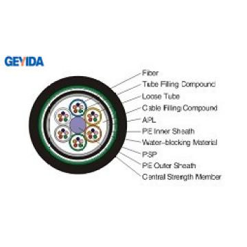 GYTA53 Double couche extérieure en fibre optique Cabel