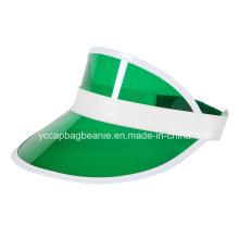 Beliebte Werbeartikel Kunststoff PVC Sonnenblende Hut