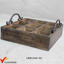 Used Alike Vintage Wooden Wine Crate