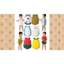 2016 nouveau design ins vente chaude 100% coton bébé barboteuse costume
