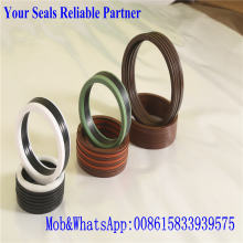 Chevron Stack Seal with Cotton Fabric Reinforced