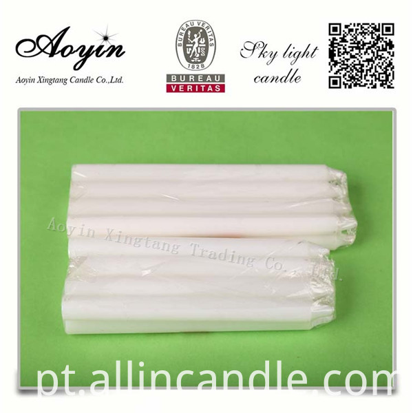 CHEAP WHITE CANDLE028