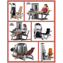 Equipamento comercial do Gym da força da máquina da aptidão / extensão do pé