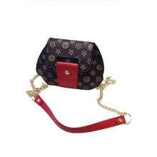 BSCI Compliant Handbag Manufacturer Ladies Flora PU Shoulder Bag Wzx1177