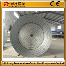 Ventilador de cono de escape de fibra de vidrio automática Jinlong para la casa de aves de corral