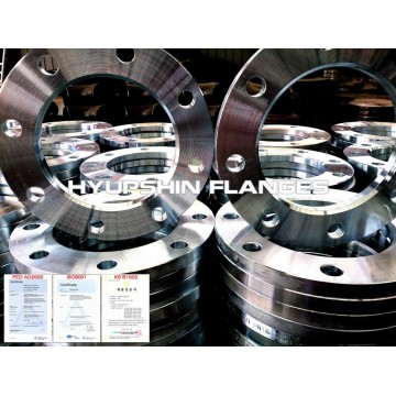 ISO9624 ANSI B16.5 LAP JOINT COLD GALV FLANGES