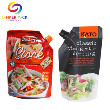 Food+Grade+Sauce+Spout+Pouch+Tomato+Packaging