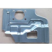 Parte da placa de carimbo no material de aço