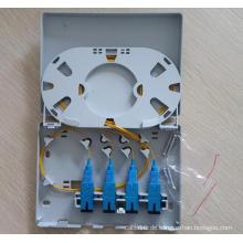 Sc / LC Fiber Anschlusskasten Pigtail Optional FTTH Box