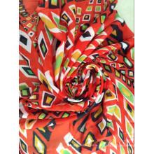 Tissu Voile Polyester filé pour foulard