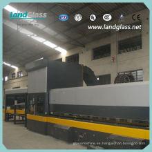 Línea de producción de templado de vidrio curvo completamente automático