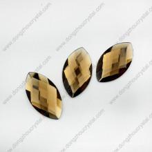 Venta al por mayor Fancy Colorful Decorative Navette Glass Stone