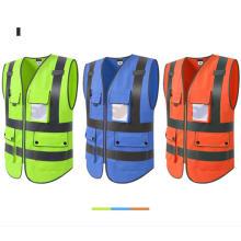 Colete reflexivo de segurança para roupa de trabalho