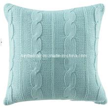 Coussin tricoté maison déco (WZ0911)