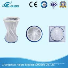 Protector de feridas descartáveis para uso médico