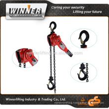 White Zinc plated manual lever block chain block