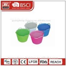 Round Handy basin w/lid 14/26/38L