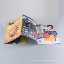 Китай поставщик пользовательские листовки брошюры книжного производства